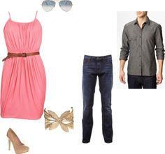 """Engagement outfit"" by aeoleinik on Polyvore"