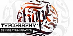 calligraphy in art modern typography. Great modern interpretation of Arabic Calligraphy