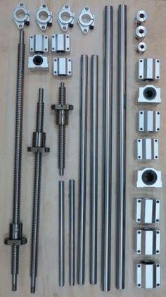 Набор механики для чпу станка с рабочим полем 40х60