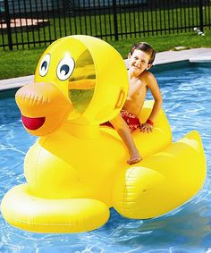 This Giant Ducky Float is perfect! #zulilyfinds