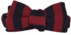 NEW Gucci Men's 379613 Blue Red Adjustable Web Stripe Cotton Bow Tie #Gucci…