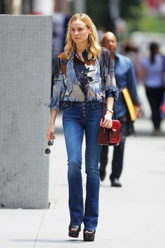 Pack up those skinny jeans and branch out with these tips on how to wear your favorite denim pieces.