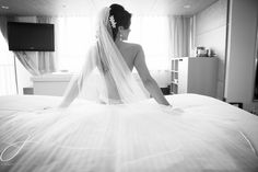 LOVE intimate Bride Getting Ready photos! Much more from this gorgeous red and black RCMP wedding www.jennifer-jayde.com