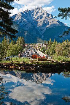 Banff Avenue --can we go, please?
