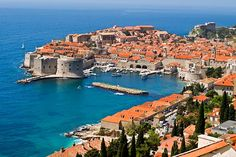 walled city of Dubrovnik in Croatia- this place is awesome.  Certainly got our workout each day with all the steps!