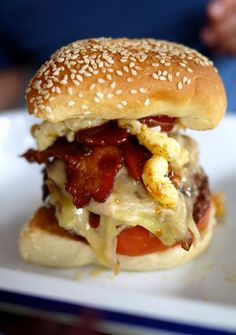 The Londoner. Because when you eat a cheese burger, it's got to be a dam good one.