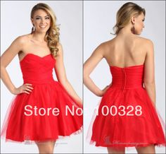 Find More Vestidos de Baile de Estudantes Information about feitos de uma  linha acima do joelho mini sem mangas querida vestido de baile curto 2014 novo design,High Quality Vestidos de Baile de Estudantes from Rose Wedding Dress Co., Ltd on Aliexpress.com