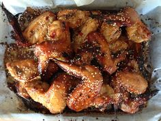 Sugar Free honey soy chicken wings - Weve given the classic Chinese honey and soy chicken recipe an IQS twist. Sugar Free Honey, Sugar Free Diet, Sugar Free Recipes, Low Sugar, Real Food Recipes, Cooking Recipes, Healthy Recipes, Paleo Ideas, Savoury Recipes