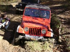Even a Jeep can (very occasionally) get stuck.