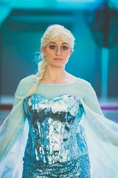 All finished. Elsa Cosplay, Disney Cosplay, Disney Princesses, Costumes, Collection, Dress Up Clothes, Fancy Dress, Disney Princess, Disney Princes
