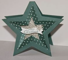 Creations by Jolan Stampin Up Christmas Card