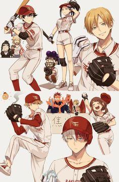 Boku No Hero Academia Funny, My Hero Academia Shouto, My Hero Academia Episodes, Hero Academia Characters, Bakugou Manga, Chica Anime Manga, Kawaii Anime, Funny Anime Pics, Cute Anime Guys