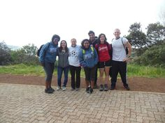 10.21.12-before we started hiking up Table Mountain!