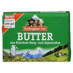 Berchtesgadener Land Butter aus frischem Berg- und Alpenrahm, 250 g