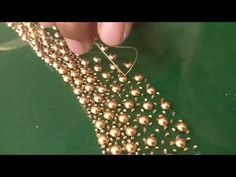 ideas embroidery techniques fashion tambour beading for 2019 Pearl Embroidery, Hand Embroidery Dress, Hand Embroidery Videos, Bead Embroidery Patterns, Embroidery Works, Embroidery Fashion, Hand Embroidery Designs, Embroidery Techniques, Embroidery Thread