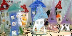 Birthe Erstvang's Glass Houses www.denblaaelefant.dk