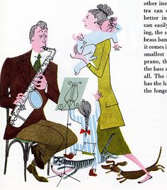 What Makes an Orchestra - Written and illustrated by Jan Balet, 1951