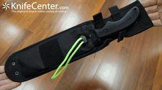 """KA-BAR 5703 ZK Zombie Killer Death Dagger Fixed 8-1/2"""" Black Blade, Interchangeable GFN Handles - KnifeCenter"""