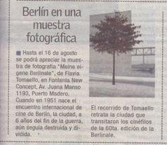 """En el diario """"BAE"""" de Argentina recomiendan visitar """"Meine eigene Berlinale""""."""