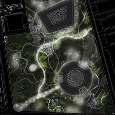 Novo Nordisk Nature Park by SLA Architects « Landscape Architecture Works Park Landscape, Landscape Plans, Urban Landscape, Landscape Design, Landscape Architecture Drawing, Landscape Drawings, Architecture Plan, Layout, Urban Design Plan