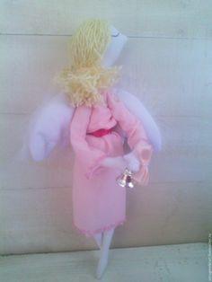 Купить ангел Зефирный - розовый, ангелочек, ангел, подарок, для девочки, для детской комнаты, для детей
