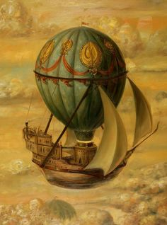 Jose Parra. Love it for the art and the ship idea at the turn of the century.