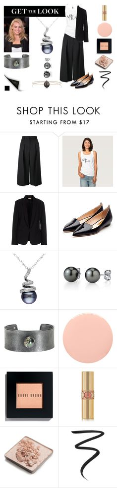 """""""Get the Look - Meow"""" by silkester ❤ liked on Polyvore featuring Erdem, Maesta, Rupert Sanderson, Todd Reed, Smith & Cult, Bobbi Brown Cosmetics, Yves Saint Laurent, Trish McEvoy, Eyeko and Melissa Joy Manning"""