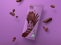 Nibmore #chocolate #packaging by Pearlfisher