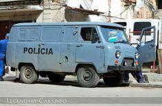 ... 452 as police van in Cuba - Cuba police cars on Legendary Police Cars