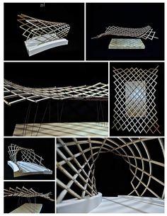 Parametric Wood | Daniel Widlowski | Archinect