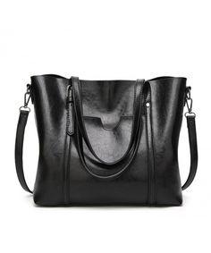Women Top Handle Satchel Handbags Shoulder Bag Tote Purse - T2-black -  CO186MOHR9R ea029053cae