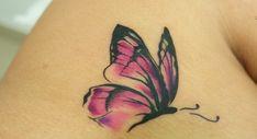 As mais lindas tatuagens de borboleta para copiar e amar! Veja 51 fotos de tattoo de borboleta e qual o significado. Escolha a sua preferida!