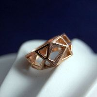 Geometry lover's ring