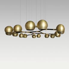 HORUS SUSPENSION LIGHT by BRABBU luxury european furniture manufacturers Chandelier Lamp, Ceiling Lamp, Pendant Lamp, Pendant Lighting, Cool Lighting, Modern Lighting, Lighting Design, Hanging Light Fixtures, Light Fittings