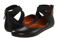 Gentle Souls Bay Unique (Black Leather) Women's Flat Shoes
