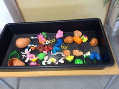 Mr  Mrs Potato Head! Great for imagination, language and fine motor skills and the children love it!