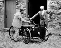 These Pictures Of Vintage Detroit Will Surprise You. Ford Motor CompanyMotor CarMetro DetroitFirst CarHenry ... & Henry Ford poses on the first car he built the Ford Quadricycle ... markmcfarlin.com
