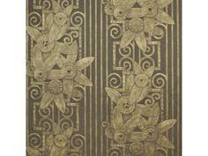 Fleur Moderne Bronze Wallpaper by Ralph Lauren Wallpaper Bronze Wallpaper, Go Wallpaper, Pattern Wallpaper, Penthouse Suite, Drapery Hardware, Fabric Houses, Wall Treatments, Color Patterns