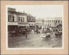 Congress Avenue, Austin, Texas, ca. 1888.