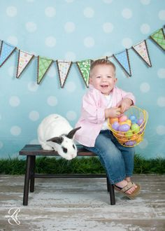 easter portrait ideas | too cute | Childrens Portrait Ideas
