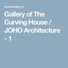 Amazing Architecture Su Instagram Sketch By Tatiana Druzhinina - Curving house joho architecture