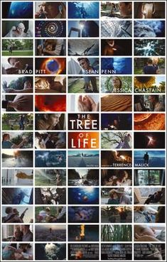 The Tree of Life movie poster. The Terrence Malick film stars Brad Pitt, Sean Penn and Jessica Chastain and is set to premiere at the Cannes Film Festival in May of Jessica Chastain, Brad Pitt, Sean Penn, Great Films, Good Movies, Oscar 2012, Oscar Nominated Movies, Image Internet, 2011 Movies