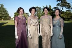 love all the edwardian clothes on downton abbey