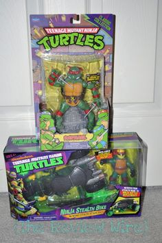 Enter to win this awesome Turtle's prize pack sure to excite any little boy!