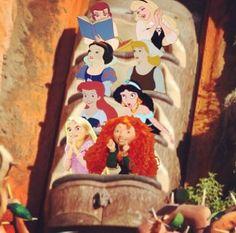 Disney Princess Splash Mountain