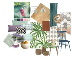 001 by momoidol on Polyvore featuring interior, interiors, interior design, home, home decor, interior decorating, &Tradition, Smeg, Jessie Lazar Ceramics and CB2
