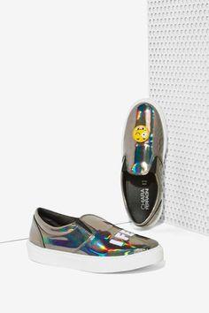 Chiara Ferragni Emoji Slip-On Sneaker