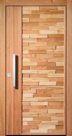 15 Main Entrance Door Design Ideas - The Wonder Cottage Main Entrance Door Design, Wooden Main Door Design, Room Door Design, Door Design Interior, Entrance Doors, Interior Doors, Modern Interior, House Door Design, Entrance Gates