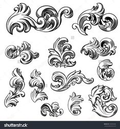 ... Scroll Filigree Design.