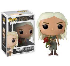 Daenerys Targaryen - Cute Game of Thrones Figures